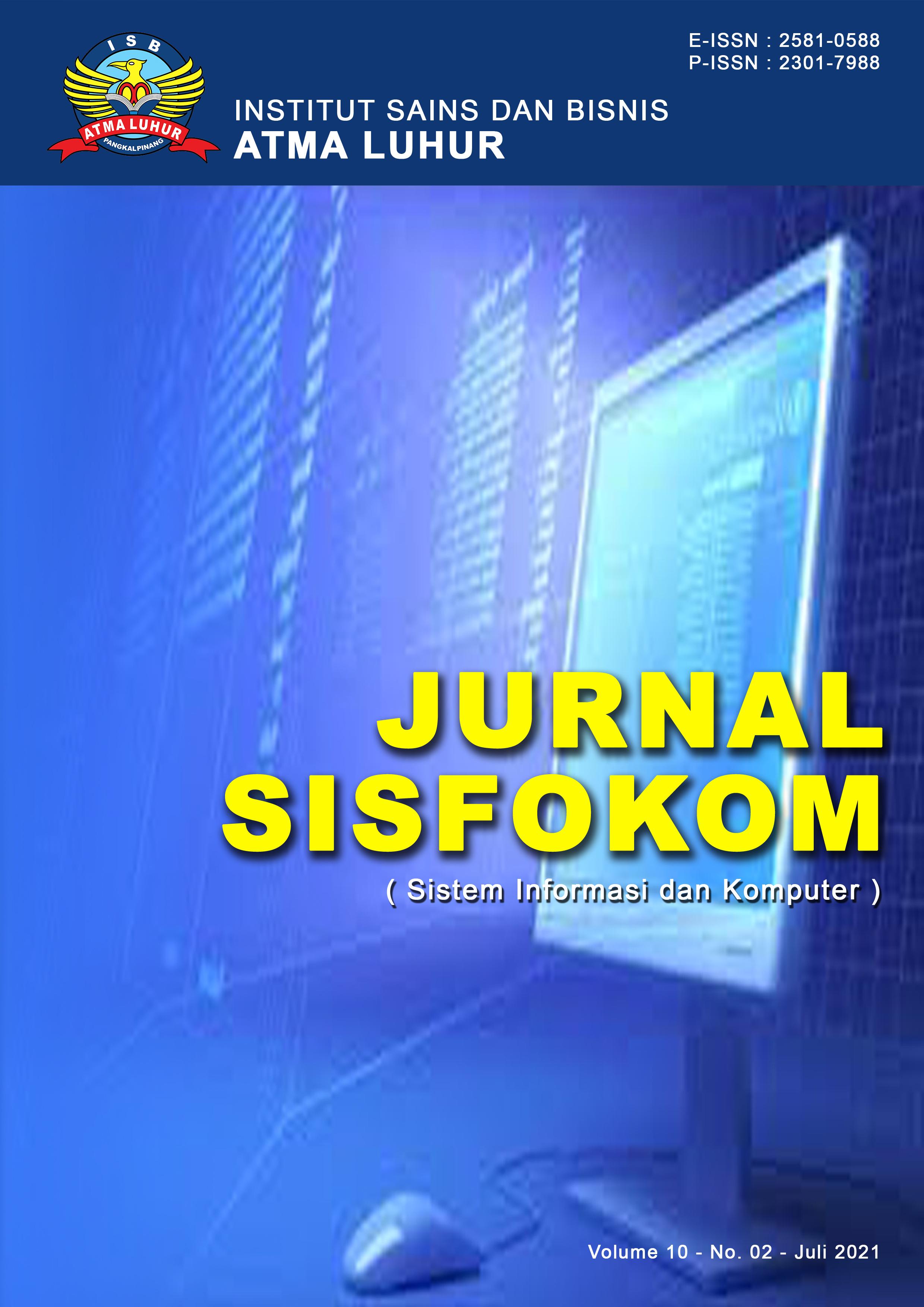 Cover Vol. 10 No. 2